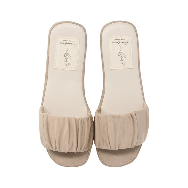 SHIRRING Roomshoes BEIGE