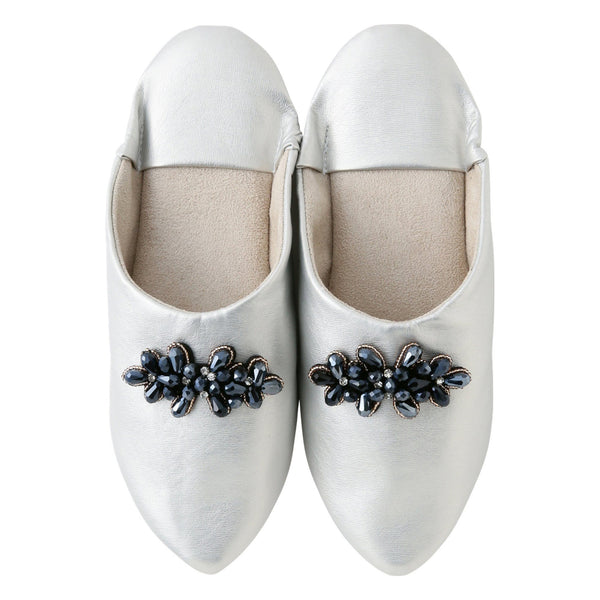 BIJOUX ROOM SHOES SLIVER