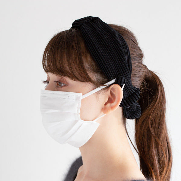 mask holder hair band BK