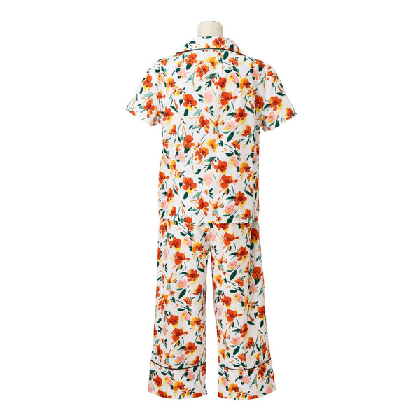 VIVID FLOWER PAJAMA OR