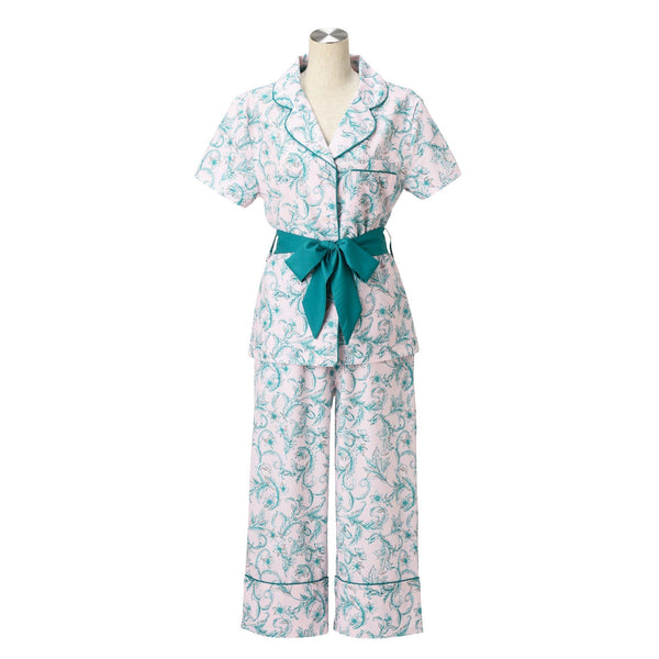 ORNAMENTAL FLOWER PAJAMA PK
