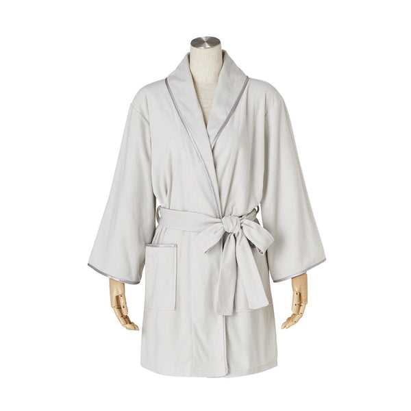 MONA BATH ROBE Gray