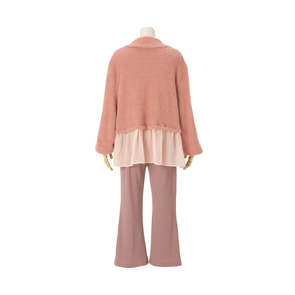 NYLON FEATHER PAJAMA PK