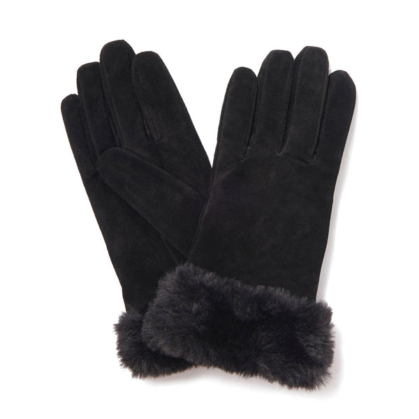 GLOVES Suede BLACK