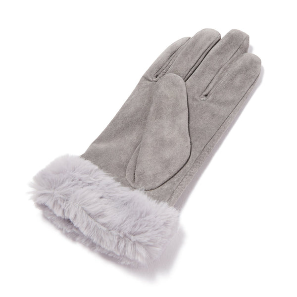 GLOVES Suede GRAY