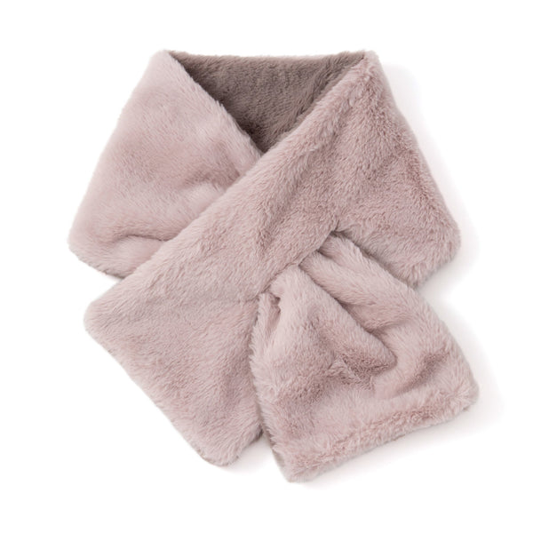 TIPPET Reversible Eco Fur PINK