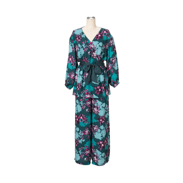 FLOWER CC Pajama Green