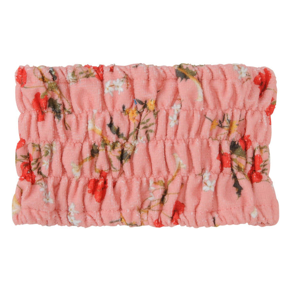 FLOWER Printed Hair Band Pink