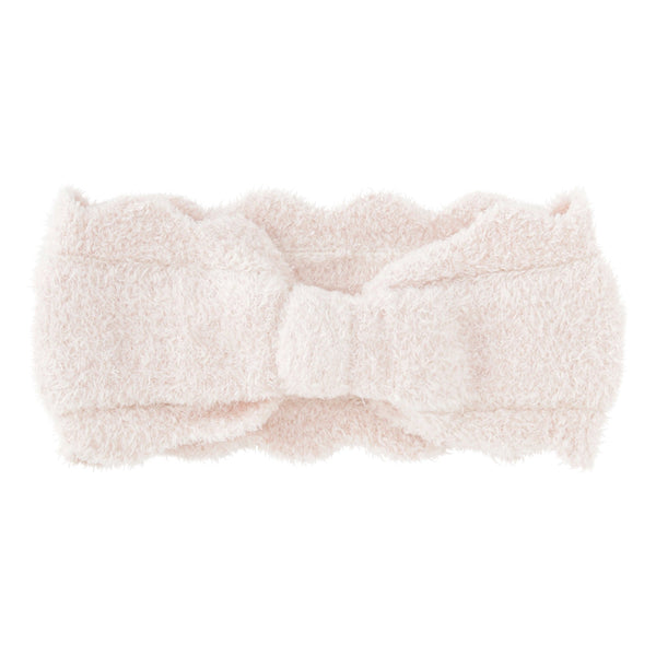 SCALLOP Knit Hair Band Pink