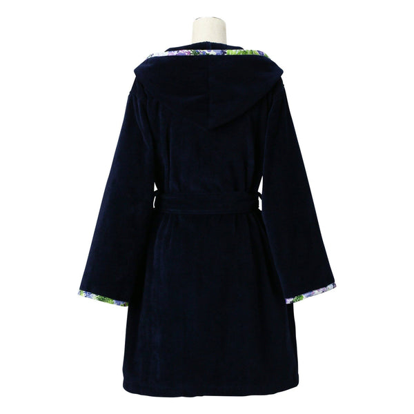 FLUER BATH ROBE Blue