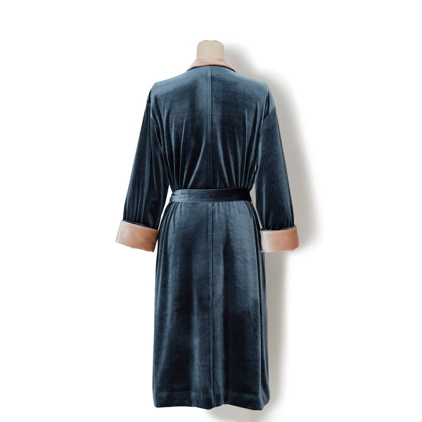 CHARMEE VELOUR GOWN Navy( Francfranc by KEITA MARUYAMA)