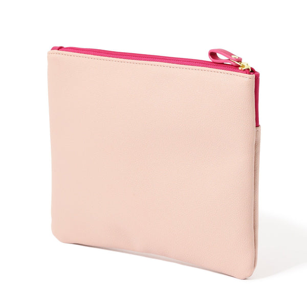 COLOREE FLAT POUCH Pink
