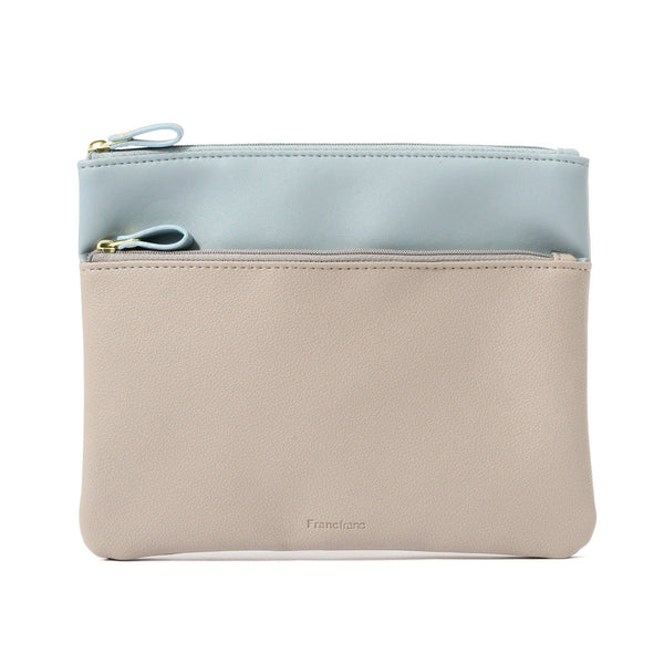 COLOREE FLAT POUCH Beige