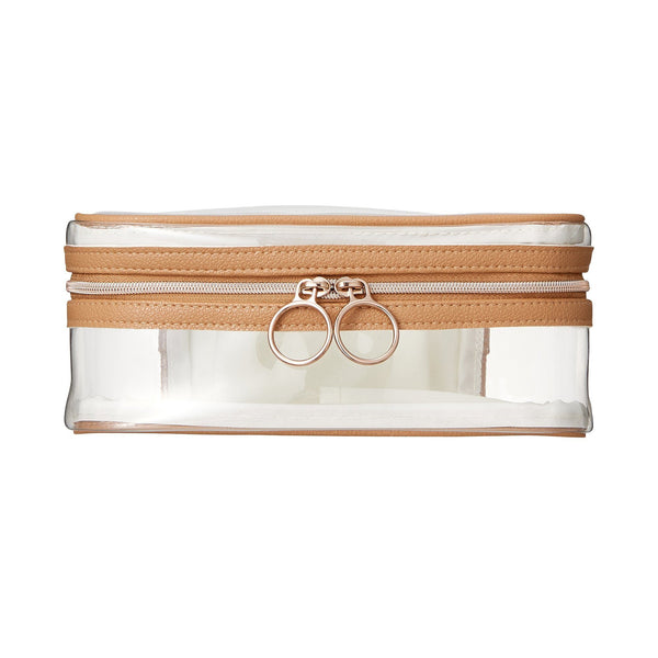 PRIRODA Vanity Pouch Small Clear