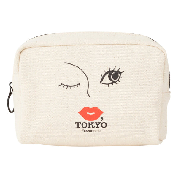 KISS TOKYO SQUARE POUCH GIRL