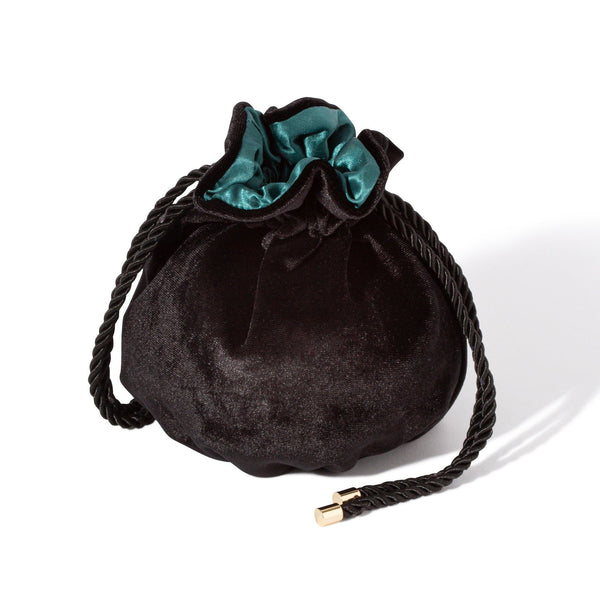 RAY Drawstring Pouch Black