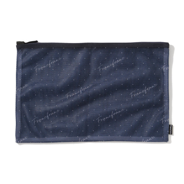 VOYAGE MESH POUCH SET Small Navy