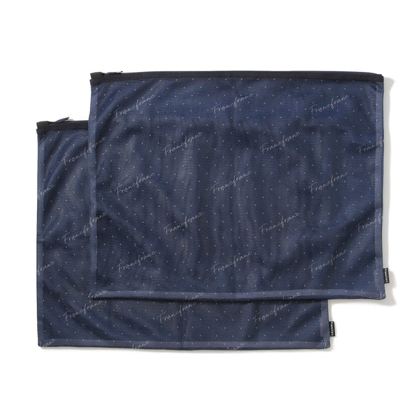 VOYAGE MESH POUCH SET Medium Navy