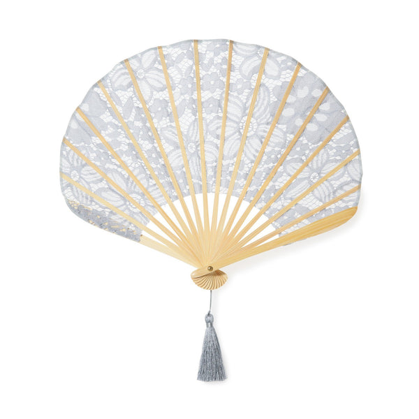 LACE FLOWER FOLDING FAN GY