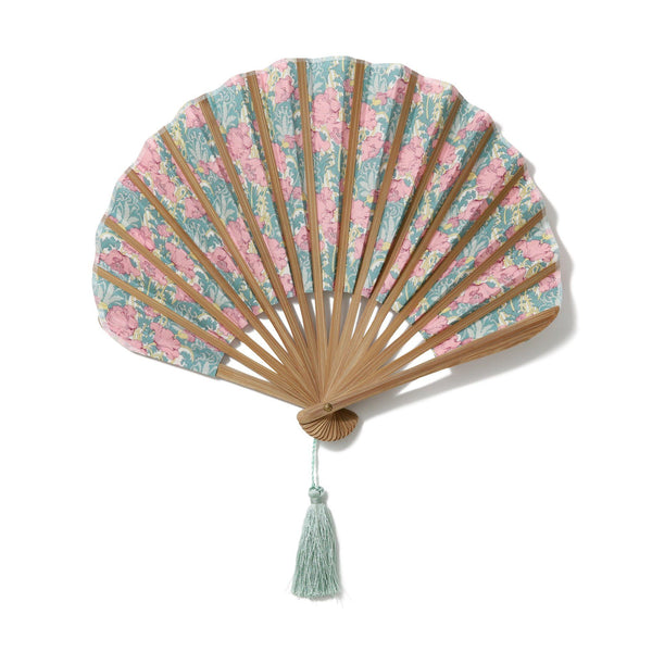 LIBERTY FOLDING FAN GREEN