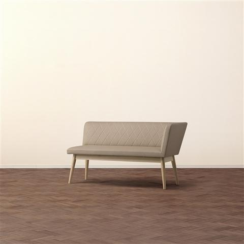 PIONI COUCH L  BEIGE X NATURAL