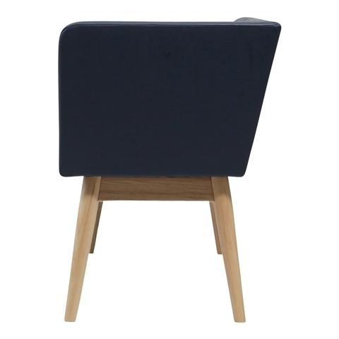 PIONI COUCH L NAVY X NATURAL