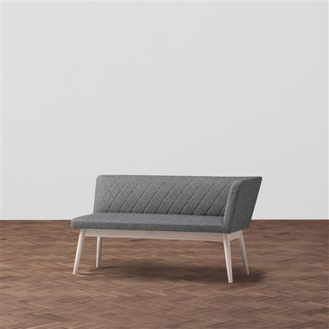 PIONI COUCH GRAY X WHITE
