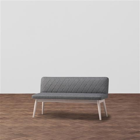 PIONI SOFA GRAY X WHITE