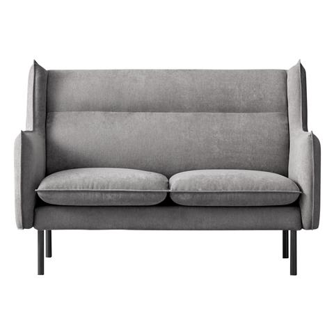 TOTTA Sofa 2 Seat Light Gray