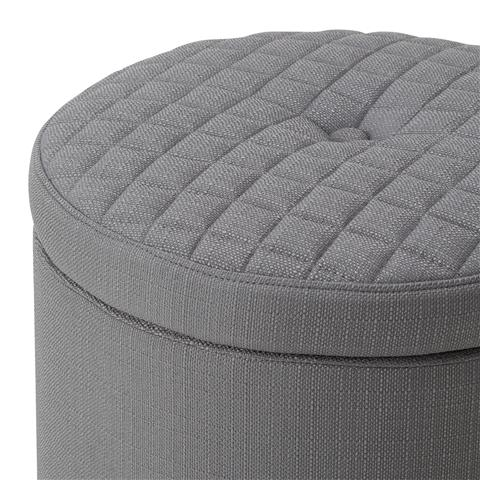 QUILID Stool Gray