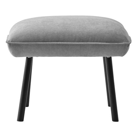 TOTTA Ottoman Light Gray
