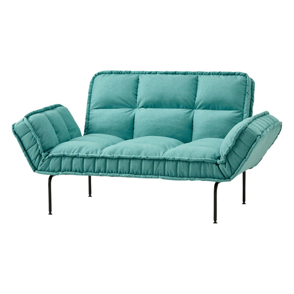 PISOLARE COMPACT SOFA BED TURQUOISE