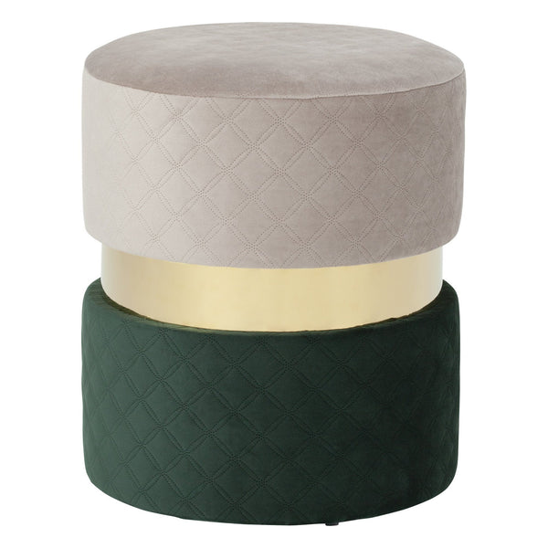 GEMME STOOL GRAY X GREEN