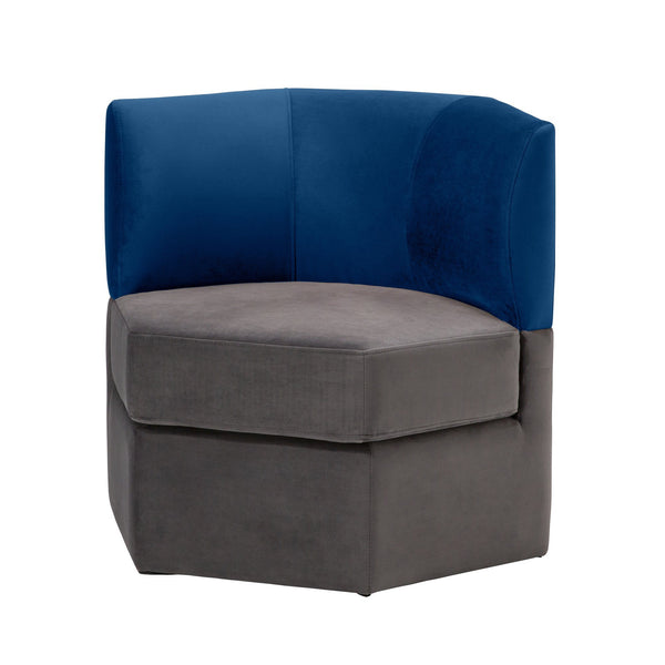 GRUPA SOFA 1S NAVY X GRAY