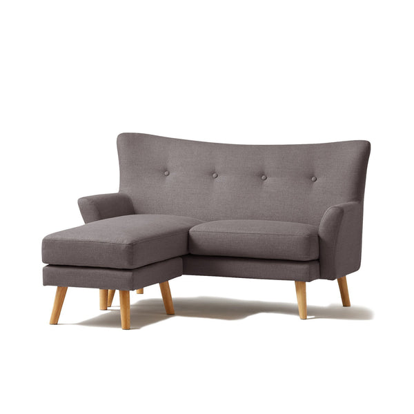 FLEURETTE SOFA DARK GRAY