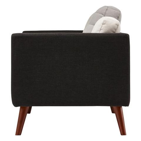 SMUK SOFA 2S BLACK