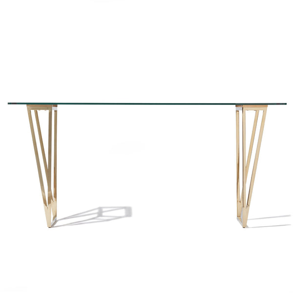 FELICITE DINING TABLE TOP CLEAR (A) (W1600×D800×H735)