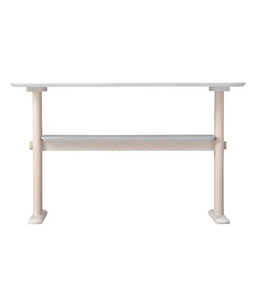 PIONI Dining Table White (W1200 × D750 × H720)