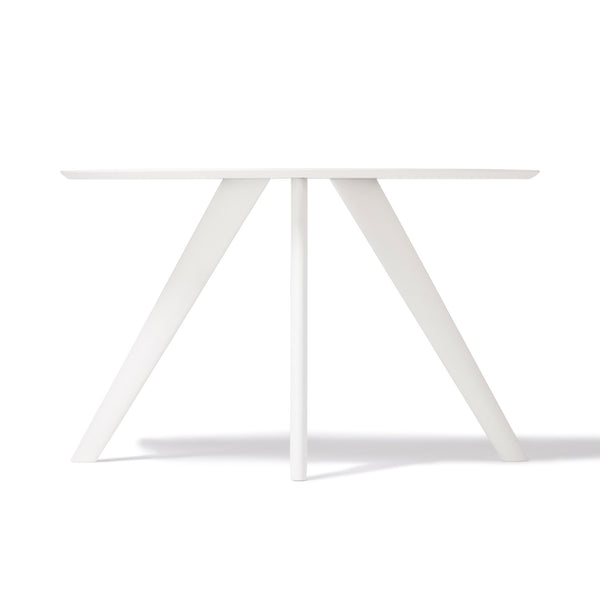 ELEVER DINING TABLE WHITE (W1200×D700×H720)