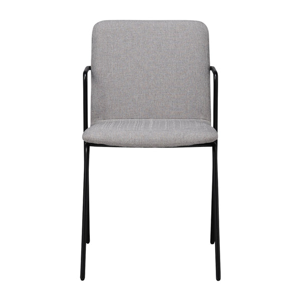 RETTA CHAIR FABRIC 20 LIGHT GRAY