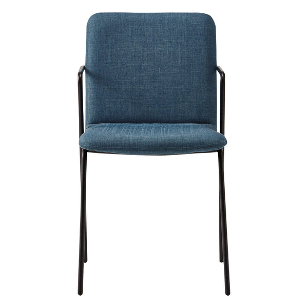 RETTA CHAIR FABRIC 20 BLUE (W450 x D540 x H790)