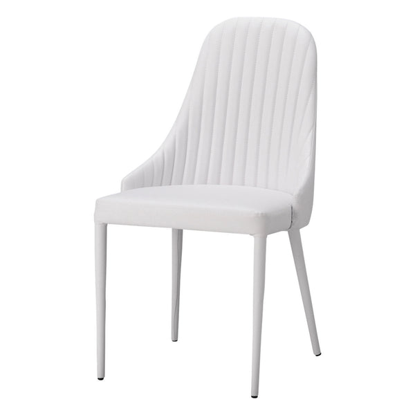 LINEA CHAIR 19 White (W500 × D580 × H850)