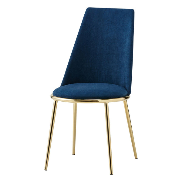 FELICITE CHAIR Navy (W450 × D580 × H875)