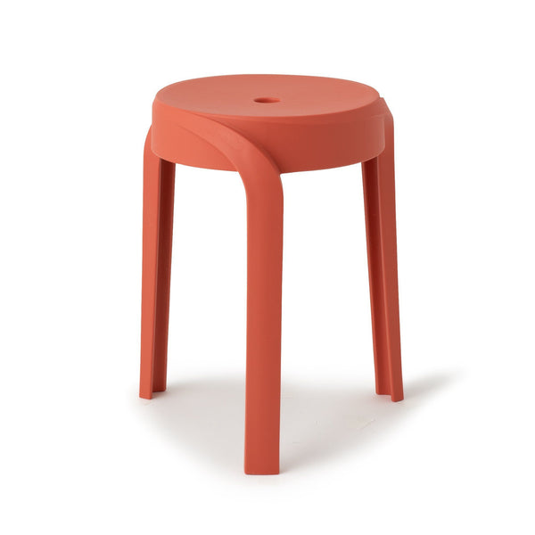 VORTEX STOOL Red (W350 × D350 × H455)