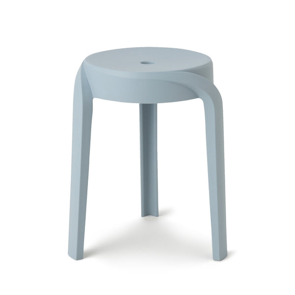 VORTEX STOOL Light Blue (W350 × D350 × H455)