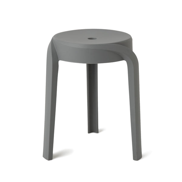 VORTEX STOOL Grey (W350 × D350 × H455)