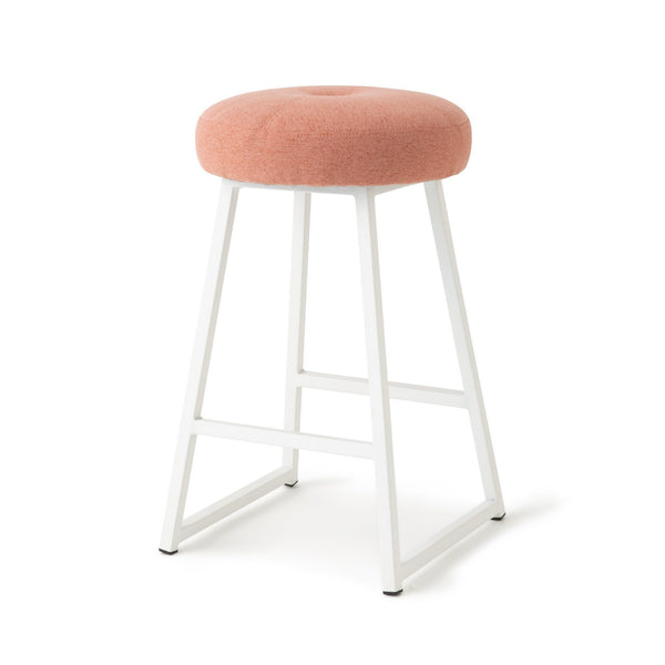RITOMO HIGH STOOL Pink (W370 × D370 × H630)