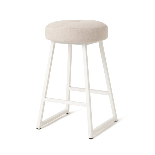 RITOMO HIGH STOOL GY (W370 × D370 × H630)