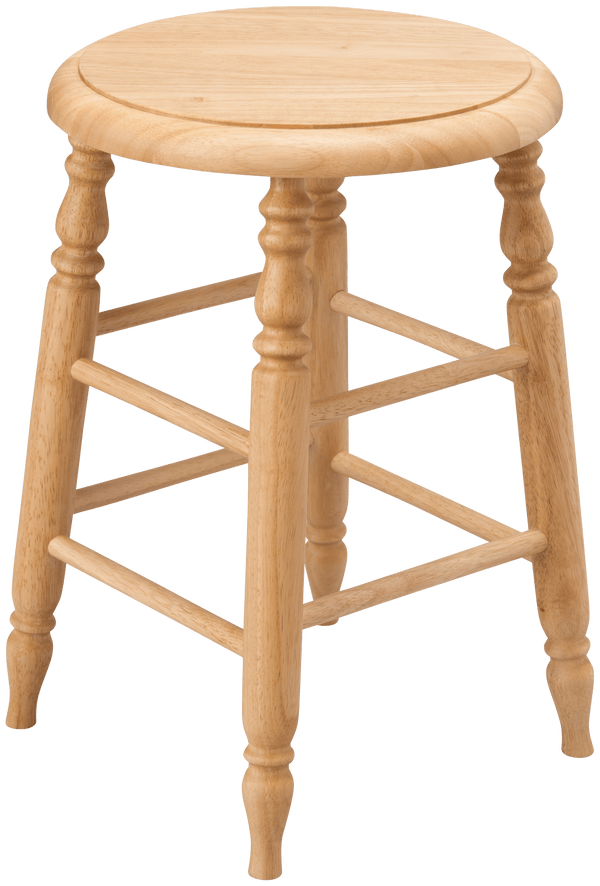 PRADO STOOL LOW NATURAL (W310 × D310 × H450)
