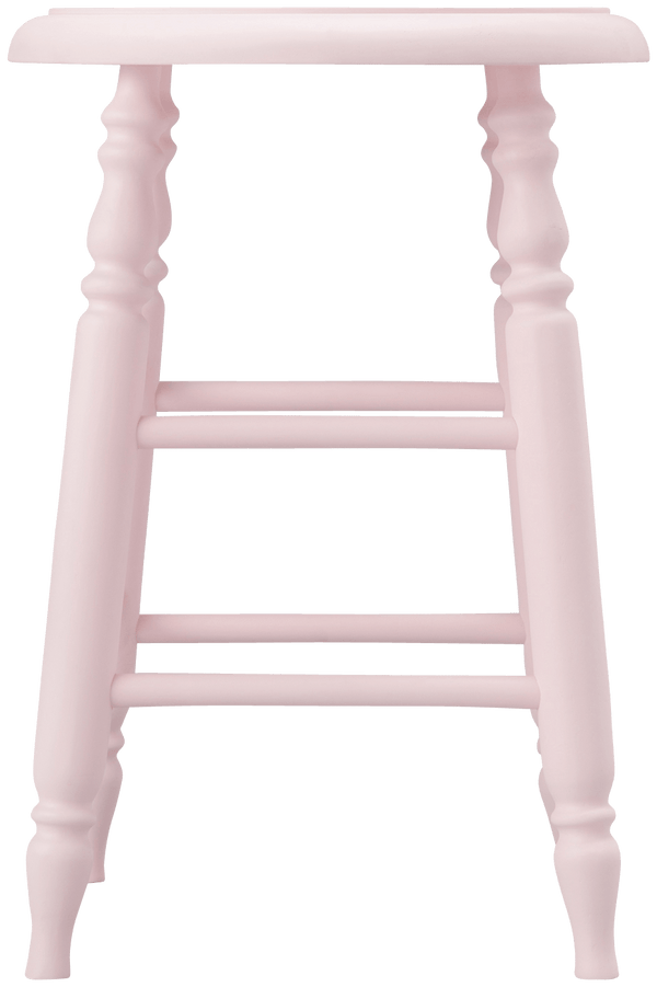 PRADO STOOL LOW PINK (W310 × D310 × H450)